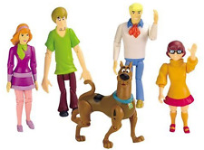 Scooby-Doo Action Figure Set Mystery Solving Crew Fred Shaggy Velma Daphne