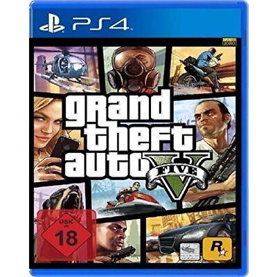 GTA 5 V Grand Theft Auto 5 V - PS4 Playstation 4 Spiel - NEU OVP