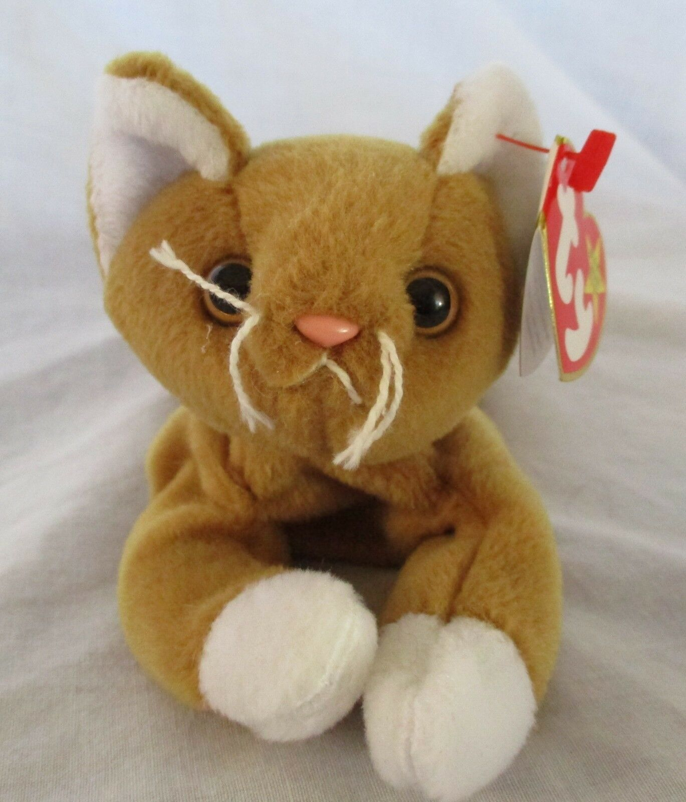 Ty Beanie Baby Nip The Cat 4th Generation Hang Tag PVC Filled