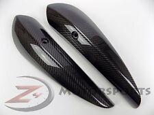 2006 2007 ZX10-R ZX10R Exhaust Muffler Heat Shield Cover 100% Carbon Fiber