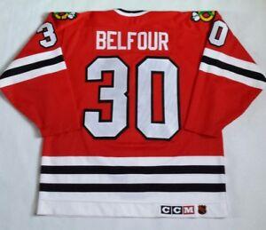 4d5af77fb Image is loading Vintage-Chicago-Blackhawks-Ed-Belfour-CCM-Authentic-Jersey-
