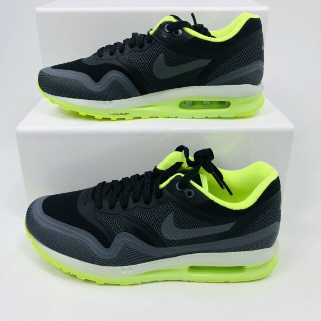 big sale 8a0a0 eefc2 NIKE AIR MAX LUNAR 1 TRAINERS WOMENS GIRLS BLACK GYM CASUAL SHOES RRP £125