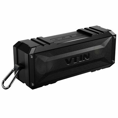 VTIN 20W Wireless Bluetooth Waterproof Speaker Stereo Punker AUX Portable Lot US