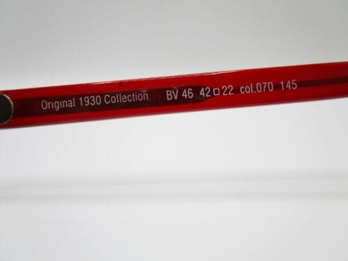 rosso Occhiali da sole donna Belstaff LTD London UK Original 1930 BV46 Col