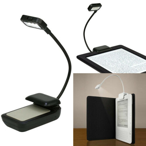 Portable Flexible Clip On Reading Light Reading Lamp for eBook Readers//Kindle