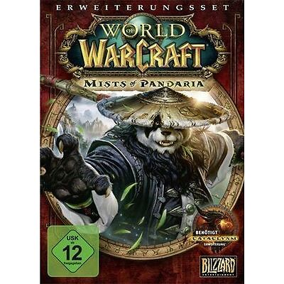 PC Computer Spiel ***** World of Warcraft - Mists of Pandaria * WOW *****NEU*NEW