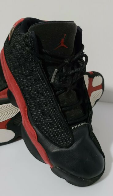 Air Jordan 13 XIII Retro BG Bred Black
