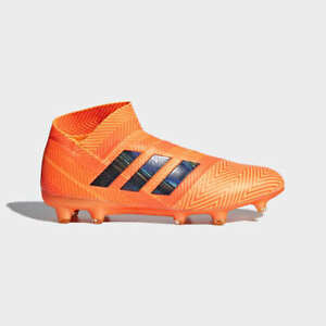 huge selection of e82fa d2d28 Image is loading Adidas-Men-039-s-Nemeziz-18-FG-Soccer-