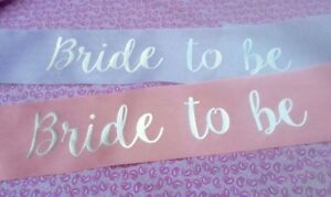 10 Personalised Hen Party Night Do Sash in Pink//Birthday Sashes accessory//gift