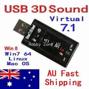 USB-2-0-AUDIO-SOUND-CARD-EXTERNAL-ADAPTER-3D-VIRTUAL-7-1-CH-Win7-8-Linux-Mac-OS