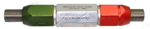 Go//NoGo .562-36 TPI 9//16-36 UNS-3B ~ Thread Plug Gage Calabak Gage Corp
