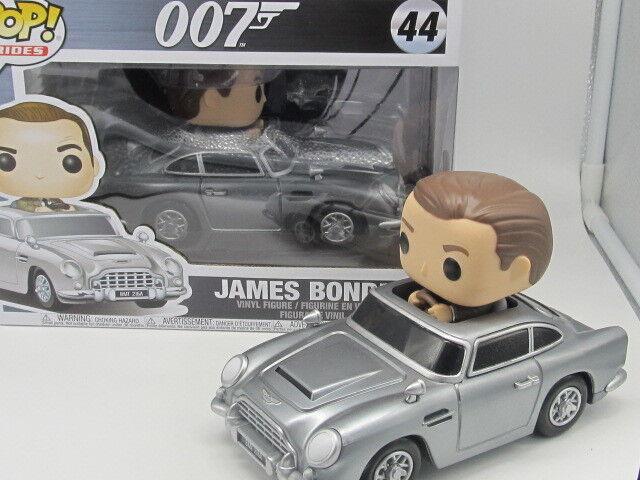 James Bond 007 - James Bond in Aston Martin DB5 Pop  Ride Vinyl Figure 44