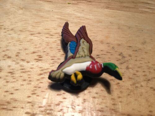 Authentic JIBBITZ Colorful MALLARD DUCK BIRD Crocs Charm