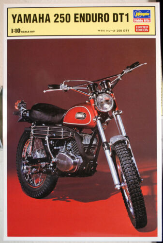 1968 Yamaha 250 Enduro DT 1 1:10 Hasegawa 52171 wieder neu 2019