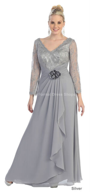 Formal Evening Gown Church Banquet Mother Of Groom Bride Plus Size
