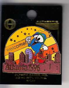 RARE-PINS-PIN-039-S-OLYMPIQUE-OLYMPIC-ATLANTA-1996-MASCOTTE-CITY-VILLE-14