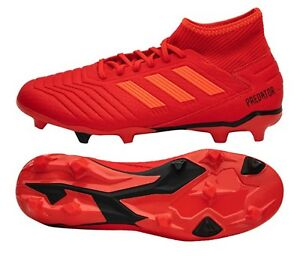 Detalles acerca de Adidas Hombres Predator 19.3 Fg Botines Fútbol Fútbol  Zapatos Bota Spike BB9334 Rojo- mostrar título original