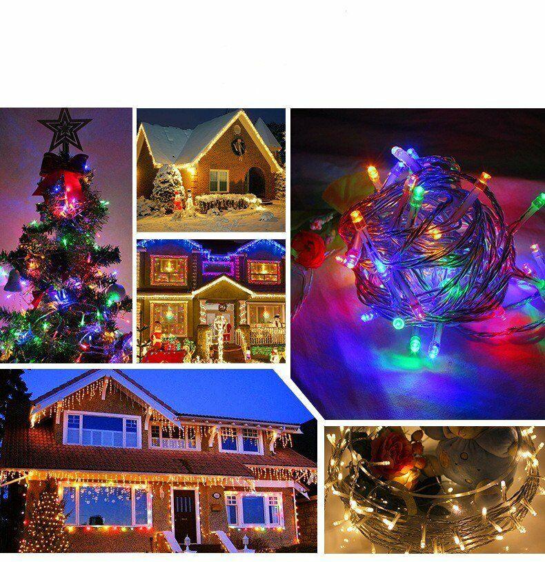 DC 12V 10M 100LED Lichterketten für Home Party Weihnachten
