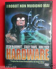 dvd film fantascienza hardware dylan mcdermott stacey travis john lynch iggy pop