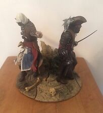 Assassins Creed IV Black Flag Edward Kenway y Blackbeard Ubisoft figura/Estatua