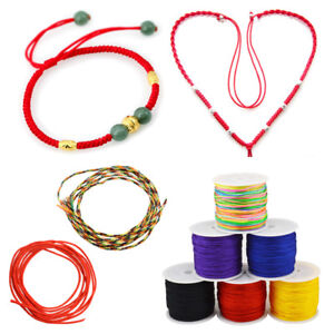 New-45m-Roll-Nylon-Rope-Macrame-Weave-DIY-String-Cord-Thread-Wire-Jewelry