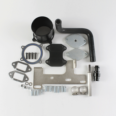 EGR Cooler /& Throttle Valve Delete Kit for 2010-2014 Dodge Ram 2500 3500 6.7L Cummins Diesel Turbo