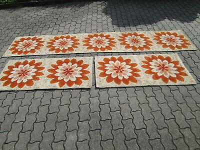 Ehrgeizig 3 Alte Teppiche - Teppichläufer - Bettumrandung