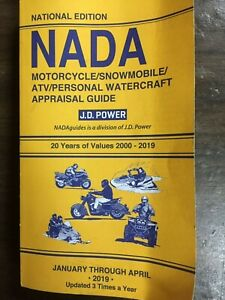 Nada Atv Values >> Details About 2000 2019 Nada Motorcycle Snowmobile Atv Personal Watercraft Appraisal Guide