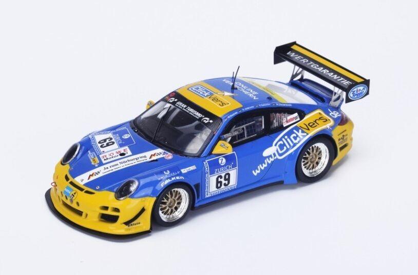 Porsche 997 GT3 Cup Destree-Jodexnis  Nürburgring  2015 (Spark 1 43   SG204)