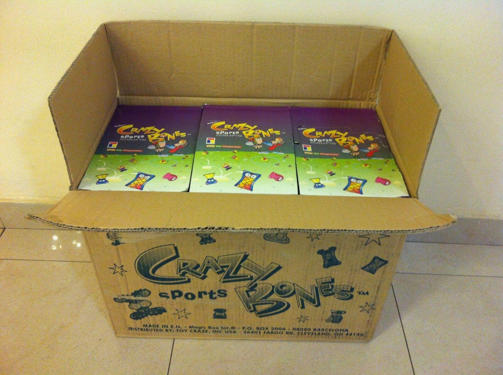 GOGOS CRAZY BONES SPORTS BOX LOT OF 9 BOXS