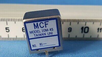 GüNstiger Verkauf Mcf Model 10m-4s - Unbenutzte Filter Den Speichel Auffrischen Und Bereichern