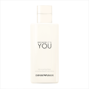 e25c9a545c Details about Emporio Armani Because It's You Pour Femme - 200ml Sensual  Body Lotion.