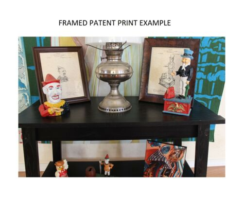Antique Billiards Bridge 2 Prints Patent Print 1908 Ready To Be Framed!