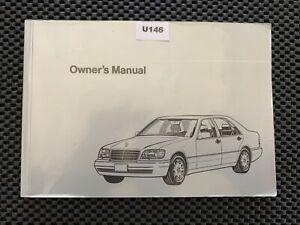 1995 Mercedes W140 S Class Sedan S320 S420 S500 Owner Manual Operator Book U146 Ebay