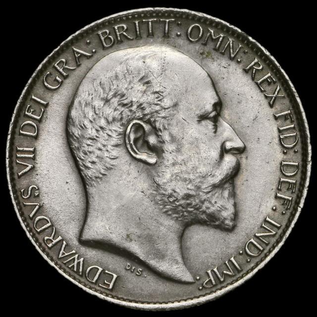 1902 Edward VII Silver Sixpence, EF