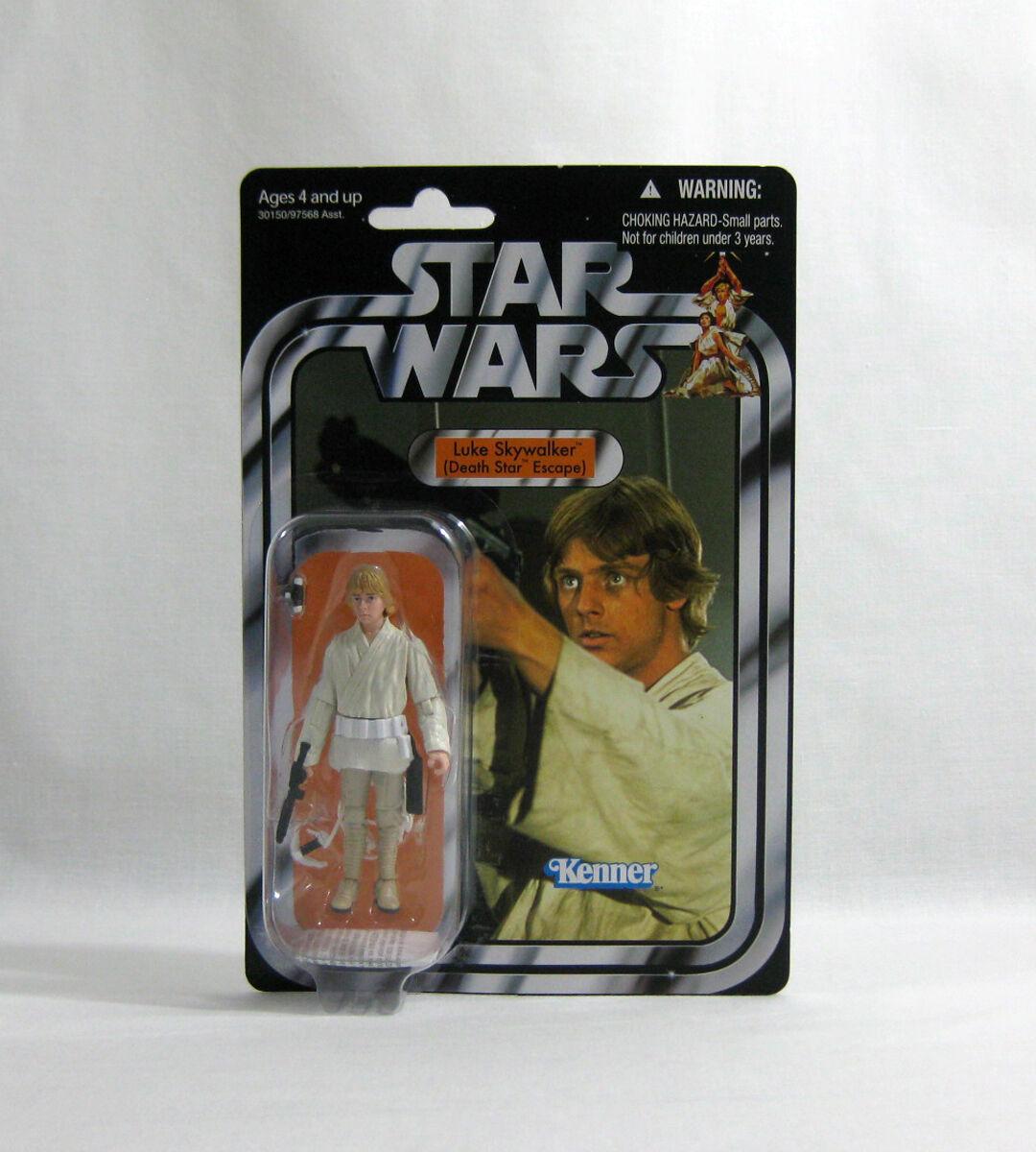 Nuevo 2010 Star Wars Luke estrella de la muerte ✧ ✧ Vintage Collection VC39 MOC