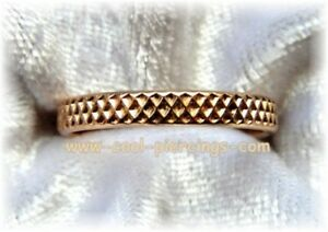 !! Super Sexy Zehenring 12 Karat Gold Filled Criss Cross Neu !!