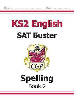 1 of 1 - KS2 English SAT Buster - Spelling Book 2, Very Good Condition Book, CGP Books, I