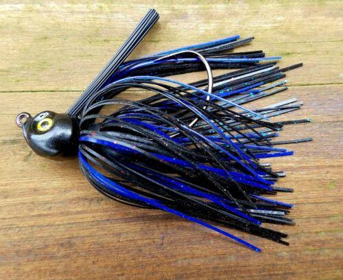 Poison Tail Jigs//Swim Jigs  1//2 oz. 3 Pcs