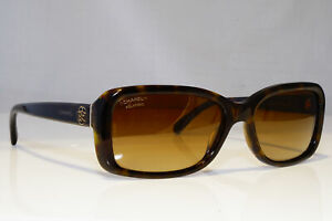 CHANEL-Womens-Polarized-Designer-Sunglasses-Brown-Rectangle-5247-714-S9-20430