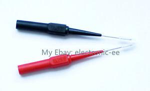 Aislamiento-Piercing-aguja-sondas-de-prueba-no-destructiva-Rojo-Negro-Nuevo