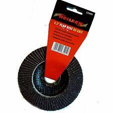 """NEILSEN SMERIGLIATRICE Flap Disc metallo legno 115mm TRITATUTTO 4.5"""" Ruggine Rimozione *"""