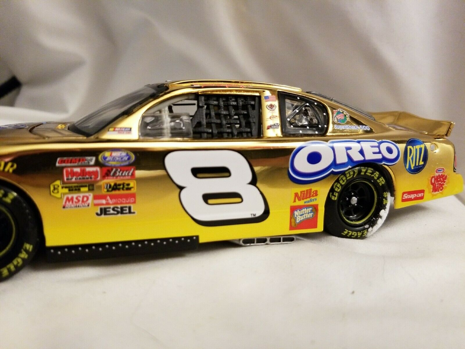 Dale Earnhardt Jr Ritz Oreo Monte Carlo 1 24 24Kt gold Limited Edition RFO