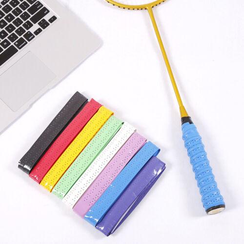 Anti-slip Absorb Sweat Racket Tape Handle Grip Tennis Badminton Squash BaES