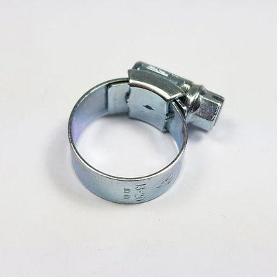 Zinc Hose Clips Jubilee Clip 13-20 mm JCS Hi-Grip OO Clamp Clamps Fuel Worm