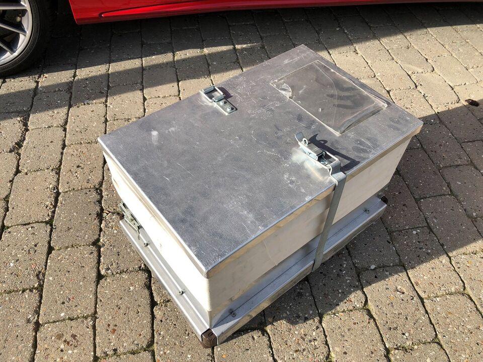 Opbevaringskasser med låg og sokkel