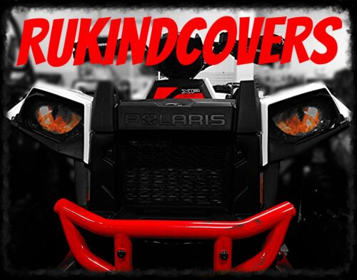 "Yamaha Grizzly 700 RUKind Covers Head Light Reaper Eyes 5/"" Round"