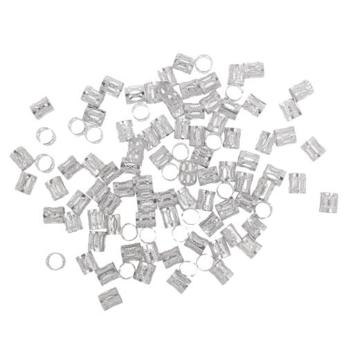 100pcs Multi Color Dreadlock Braiding Perlen Verstellbare Haar Braid Metall