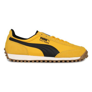 Puma-Men-039-s-Fast-Rider-Source-Spectra-Yellow-Whisper-White-Sneakers-37160104-NEW