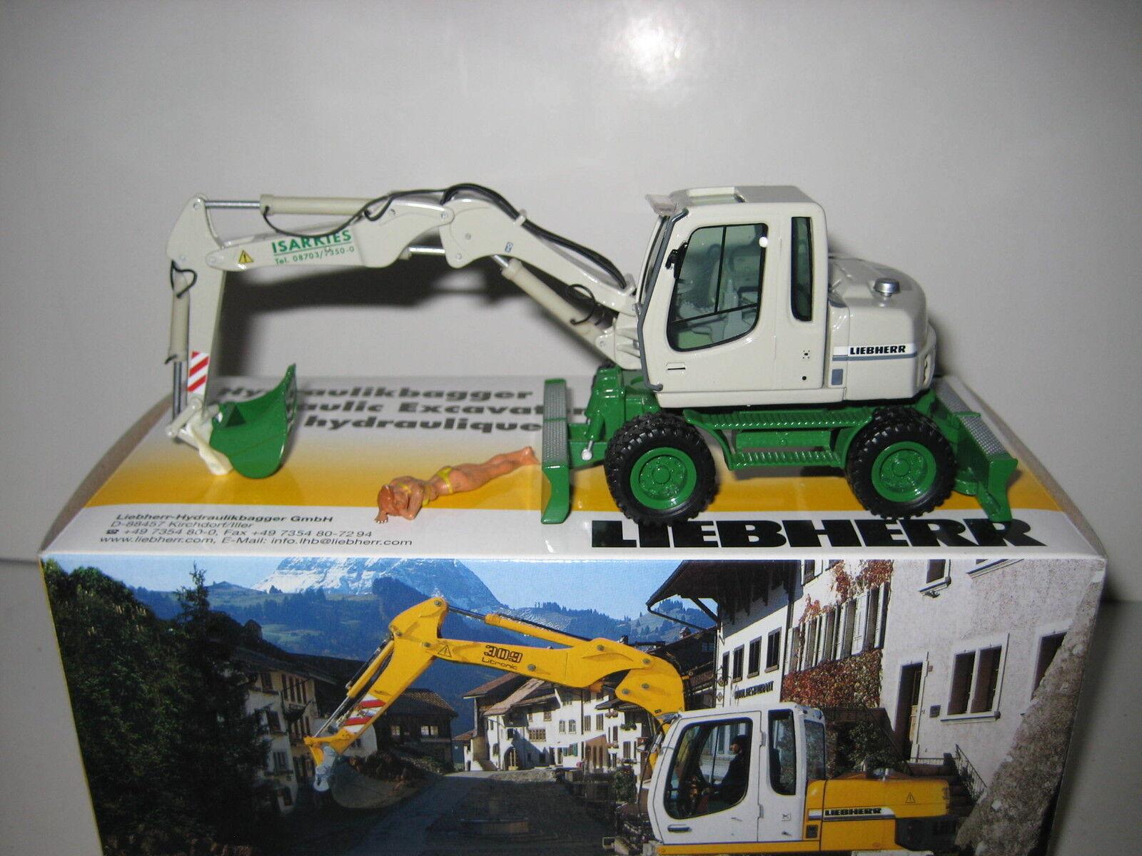 Liebherr A 311 Excavateurs tieflöffel isarkies  605 NZG 1 50 neuf dans sa boîte